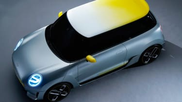 MINI Electric concept - above