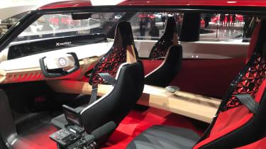 Nissan Xmotion - Detroit interior