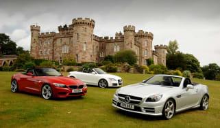 Mercedes SLK vs rivals