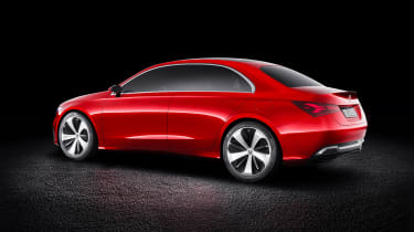 Mercedes Concept A Sedan - rear