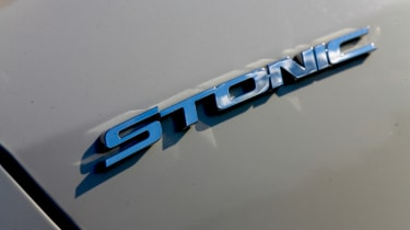 New Kia Stonic - badge