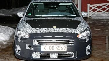 2018 Ford Focus spy shot front