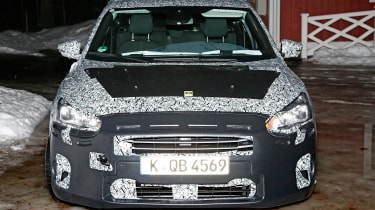 2018 Ford Focus spy shot front