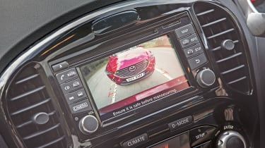 Nissan Juke - screen