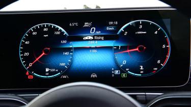 Mercedes GLS - dials