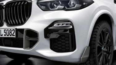 BMW X5 M Performance Parts - front detail