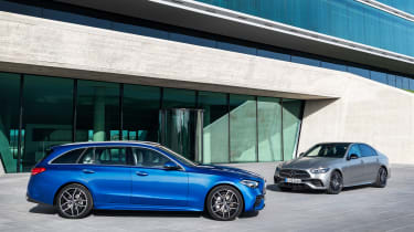 Mercedes C-Class Saloon and Estate 2