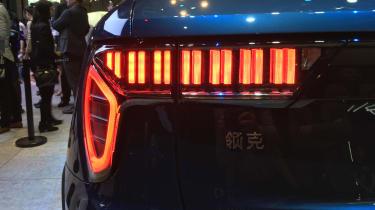 lynk and Co 01 SUV production car Shanghai 2017 rear light