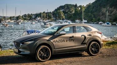 Mazda EV prototype - front static