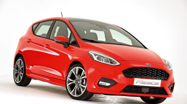 New 2017 Ford Fiesta - studio front