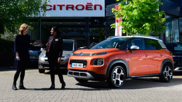 Citroen C3 Aircross long-term test - handover