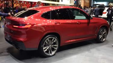 New BMW X4 rear