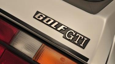 Volkswagen Golf GTI Mk1 - badge