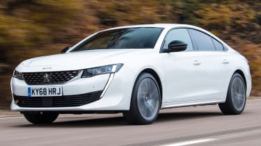 peugeot 508 tracking front