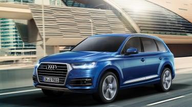 Audi Q7 tracking