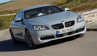 BMW 640i Gran Coupe front tracking