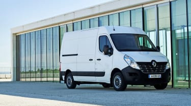Renault Master Z.E - front 3/4 static