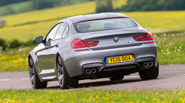 BMW M6 Gran Coupe - rear action