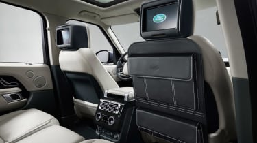 Updated Range Rover - rear screens