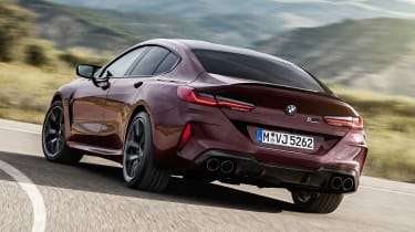BMW M8 Gran Coupe - rear cornering