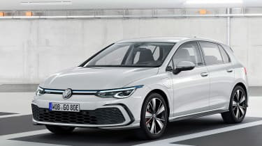 New Volkswagen Golf Mk8 leaked images