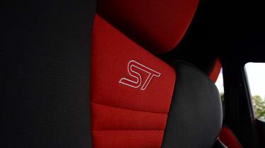 Ford Fiesta ST 5-door - front seat ST badge