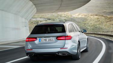 Mercedes E-Class Estate - rear action