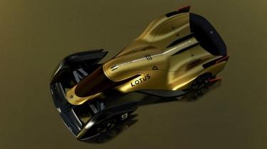 Lotus E-R9 - above