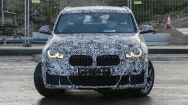 BMW X2 production spy shots