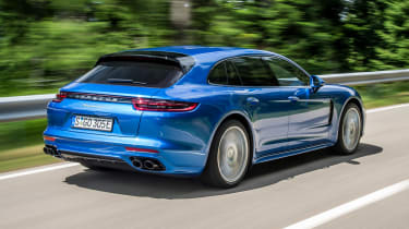 Porsche Panamera Sport Turismo 2017 review - rear
