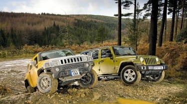 Hummer H3 vs Jeep Wrangler
