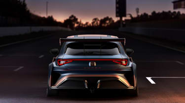 Cupra Leon Competicion - rear static