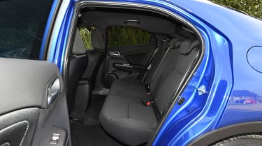 Honda Civic Sport 1.4 - rear seats