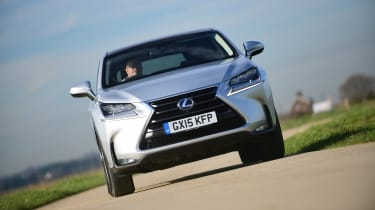 Lexus NX long-termer - front tracking