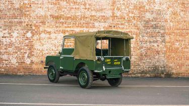 Land Rover Series 1 Reborn - rear