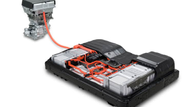 Nissan Leaf e+ - 62kWh battery and motor