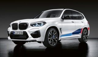 BMW X3 M with M Performance parts - front static