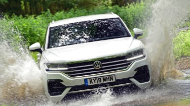Volkswagen Touareg long termer - first report header