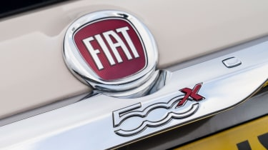 Fiat 500X long termer - badge