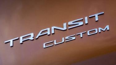 Ford Transit Custom PHEV badge