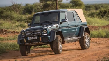 Mercedes-Maybach G 650 Landaulet - front cornering