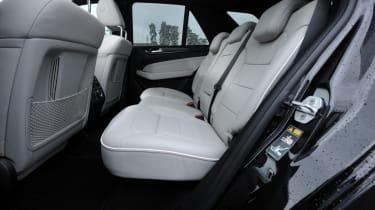 Mercedes ML 350 CDI rear seats