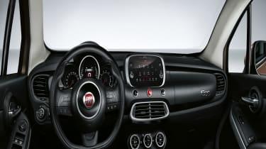 Fiat 500X interior