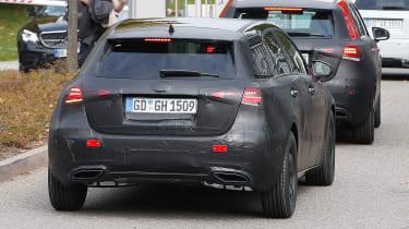 Mercedes A-Class 2018 rear