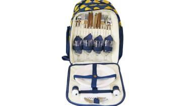 Best picnic backpacks - Anorak Kissing Hedgehogs Picnic Rucksack