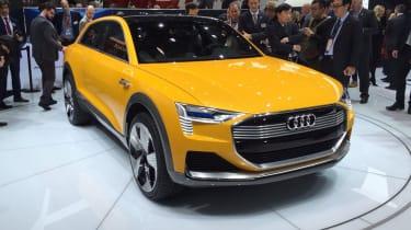 Audi h-tron concept - show front quarter