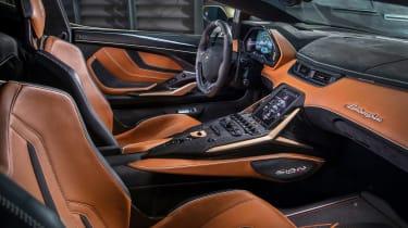 Lamborghini Sian - cabin