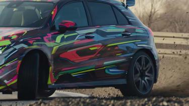 Mercedes-AMG a 45 spy shots video