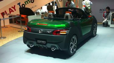 Daihatsu Kopen revealed in Tokyo 2013 rear