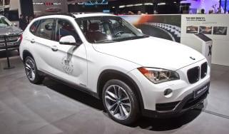 BMW X1 facelift Detroit front